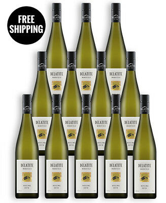Delatite Traditional Riesling 2016 (12 Bottles)