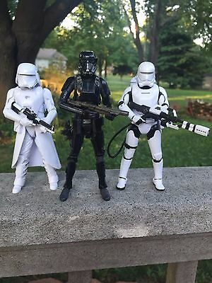 Hasbro Star Wars The Black Series 6 in Action Figures LOT of 3 Storm Troopers