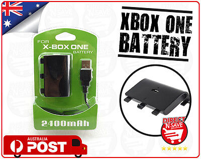 Xbox One Style Battery Pack Controller Rechargeable 2400mAh Rechargeable Liion