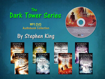 The Complete DARK TOWER Series By Stephen King (8 MP3 Audiobooks)