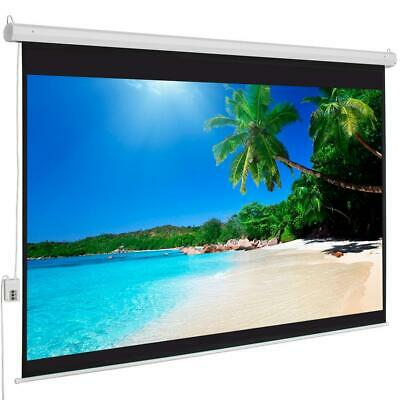 "Big Sale 100"" 4:3 Material Electric Motorized Projector Screen +Remote"