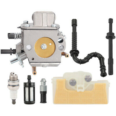 Carburetor For Stihl MS290 029 MS390 MS310 039 New Air Fuel Filter Intake Boot