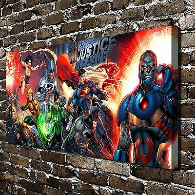DC Comics Superman Paintings HD Print on Canvas Home Decor Wall Art Pictures