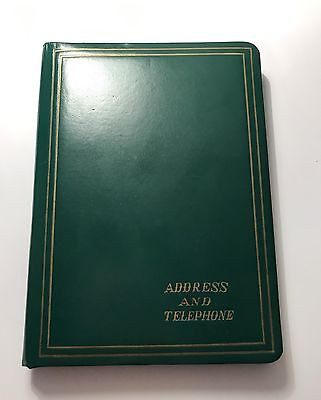 Vintage Address & Telephone Book - 60's or 70's - MINT CONDITION