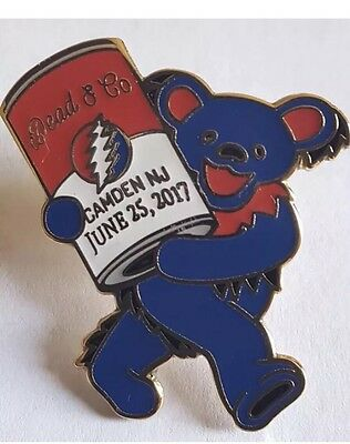 DEAD AND COMPANY PIN. 6/25/17 Camden NJ  Fare Thee Well Free Items Included 🌴
