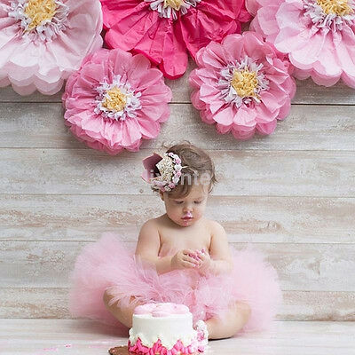 Crown Flower Tiara Headband for Baby Kids Party Hair Bands Accessories UK