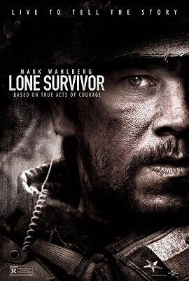 Lone Survivor zweiseitig Original Film Film Plakat Advance Mark Wahlberg
