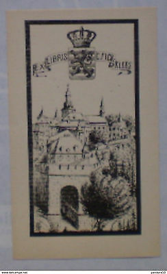 z.64 Ex-libris Exlibris Bookplate André Herry. Luxembourg