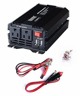 ERAYAK 400W Power Inverter DC12V to AC110V with 3.1A Dual USB Charging Ports ...