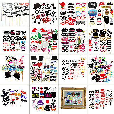 Party Props Photo Booth Funny Selfie Photography Birthday Wedding Engagement DIY