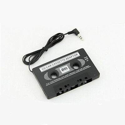 Audio Car Cassette Tape Adapter Aux Cable 3.5mm Jack For To MP3 IPod CD Player