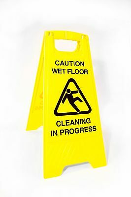 Professional Wet Floor Sign Warning Caution Hazard Cleaning In Process