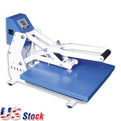 "US Stock-20"" x 16"" Auto Open Heat Press Machine T-shirt Heat Press Machine"