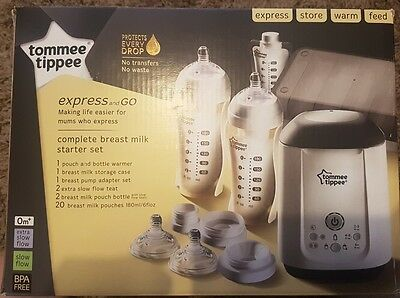 Tommee tippee express and go