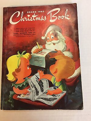Vintage 1953 Sears Christmas Catalog