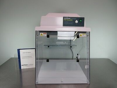 AirClean 600 PCR Workstation 2' with Warranty