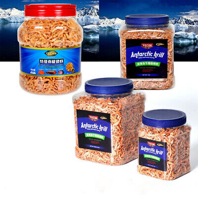 Freeze Dried Shrimp Fish Food Krill For Aquarium Tropical Fish Turtle Cichlid