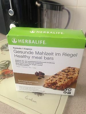 Brand New Herbalife Formula 1 Chocolate Chip Meal Bars