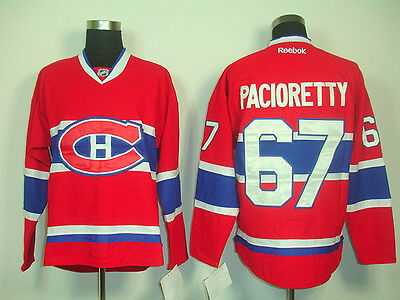 Montreal Canadiens Men's Hockey Jersey M to 3XL 31 Carey Price 67 Max Pacioretty