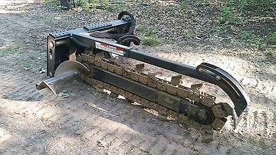 """Bobcat LT313 Trencher,comes with 6"""" and 12"""" teeth, used only twice"""