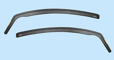 iSpeed Wind Deflectors for VOLKSWAGEN Caddy  lll 2K 2004+ON Visors 2-pc Tinted