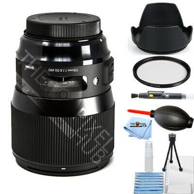 Sigma 135mm f/1.8 DG HSM Art Lens for Canon EF!! STARTER KIT BRAND NEW!!