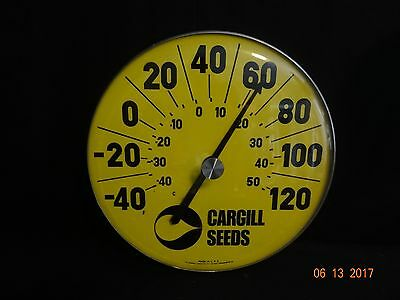 Nice Vintage Cargill Seeds 18 Inch Thermometer Advertising RARE