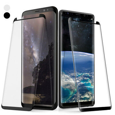 Poetic Galaxy S8 /S8 Plus 3D Curved Edge Tempered Glass Screen Protector 2 Color