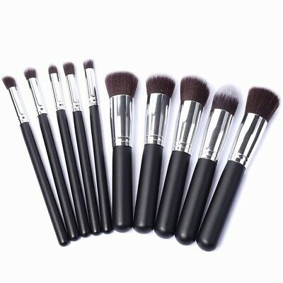 10 Stück Kabuki Professionelle Make Up Pinselset Makeup Pinsel Kosmetik