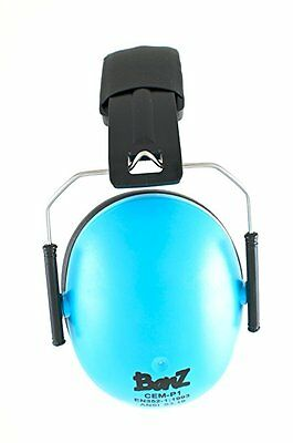 Baby Banz earBanZ Kids Hearing Protection, Blue, 2 -10 YEARS NEW