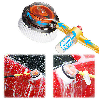 For Car Wash Brush Extendable Pole Revolving Care Washing Sponge Cleaning 290mm