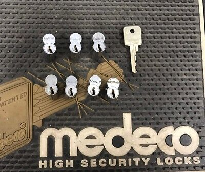 Used sfic core Keymark By Medeco Key Control-1 Pinned Core X 26d Keyed Different