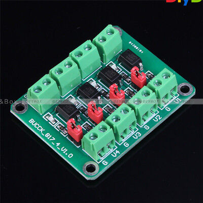 PC817 Isolation Driving Module 4-Channel Voltage Converter Module Optocoupler