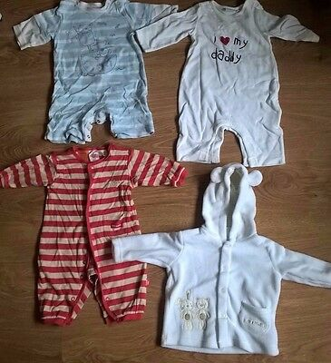 baby boys kids children used bundle of clothes 0-3 months