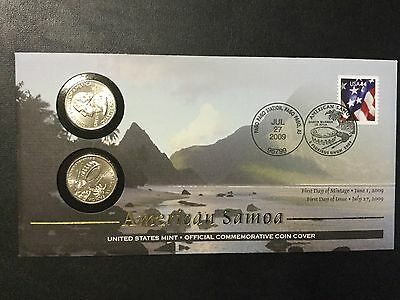 2009 Us Territories Quarters Mint Set With First Day Covers !