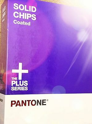 Pantone® solid chips coated only + the plus series color book purple gently used