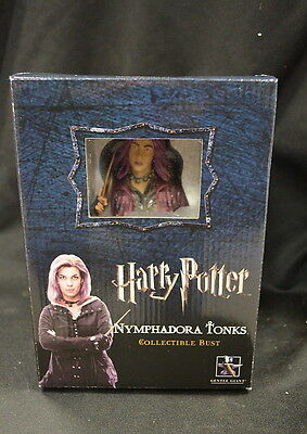 Harry Potter: Nymphadora Tonks Collectible Bust # 233/2500 SEALED GENTLE GIANT