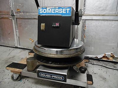 Somerset Heated Hot Pizza Dough Press Sdp-747 Tested Working!!