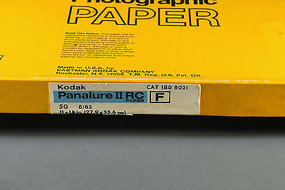 Kodak 11x14 Panalure Black & white photo paper