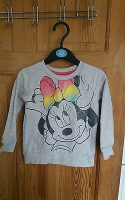 baby/girls/childrens/outfit/minnie mouse/disney/18-24 months