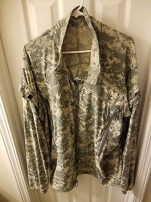 Us Army Ecw Acu Cold Weather Gen Iii L4 Wind Shirt Jacket Xlarge Xlong