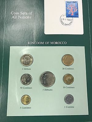 Kingdom of Morocco  Coins of All Nations Set *FREE SHIPPING* nr