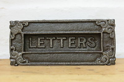 Victorian / Edwardian CAST IRON Letter Box (READY TO FIT)
