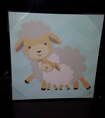 Sheep nursery decor lamb decor baa baby