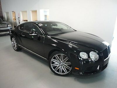 2013 Bentley Continental GT V8 GT V8 Coupe 2-Door Ventilated Seats Knurled Shift Lever Rear View Camera Sports Exhaust