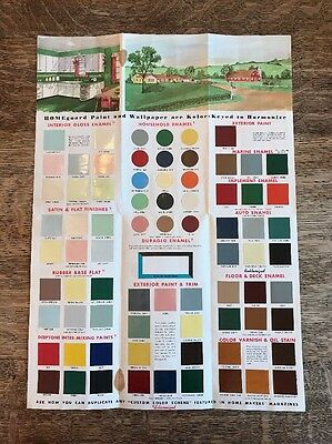 Vintage Homeguard Wall Home Paint Brochure Gambles Skogmo Western Auto