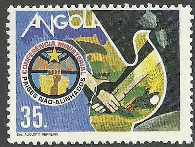 Angola 1985 -Non-Alligned Countries Conference set MNH