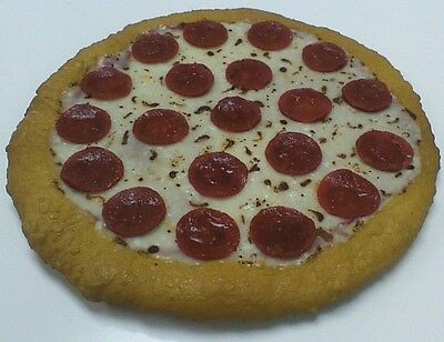 """12"""" Plastic Pizza Fake Food for Restaurant Display. Faux Foods Replica Pizza NEW"""