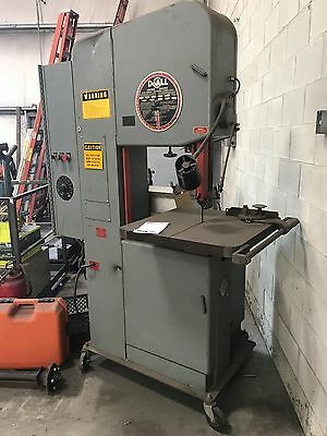 DoAll  4 way bandsaw & 60 ton hydrolic press