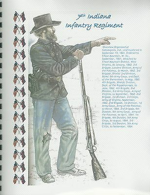 Civil War History of the 7th Indiana Infantry Regiment